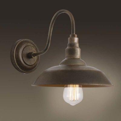 Single Light Small Gooseneck Barn Wall Lighting Indoor Fixture