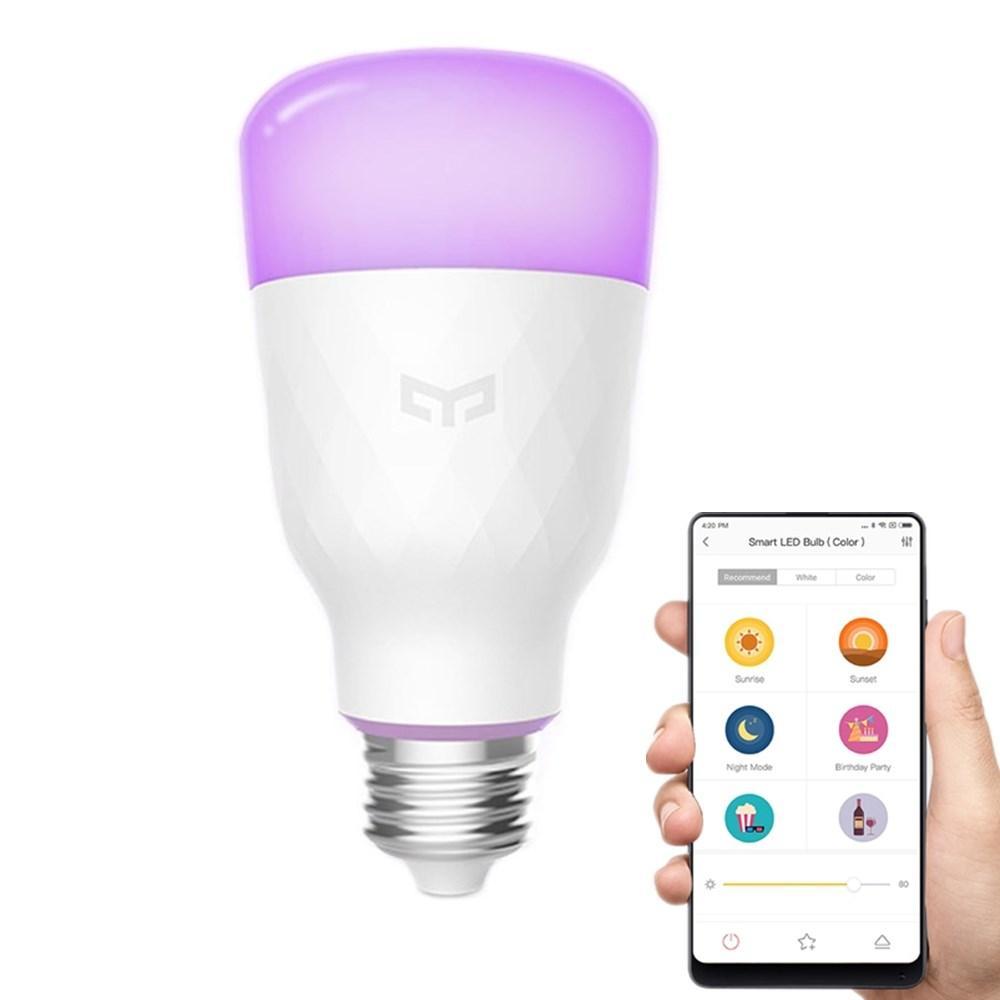 Xiaomi Yeelight Yldp06yl E26 E27 10w Rgbw Smart Led Bulb Wifi App Control Ac100 240v V 2019 G Svetodiodnaya Lampa Lampa I Ottenki Belogo