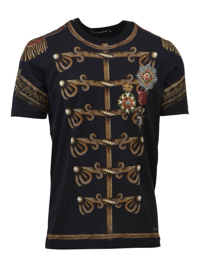 9194b02c DOLCE & GABBANA Dolce & Gabbana Military T-shirt. #dolcegabbana #cloth #