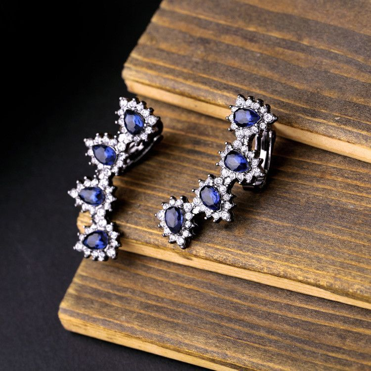 #AdoreWe Few Moda, Minimalistic Fashion Brands Online - Designer Few Moda Crystal Flurry earring JW0135 - AdoreWe.com