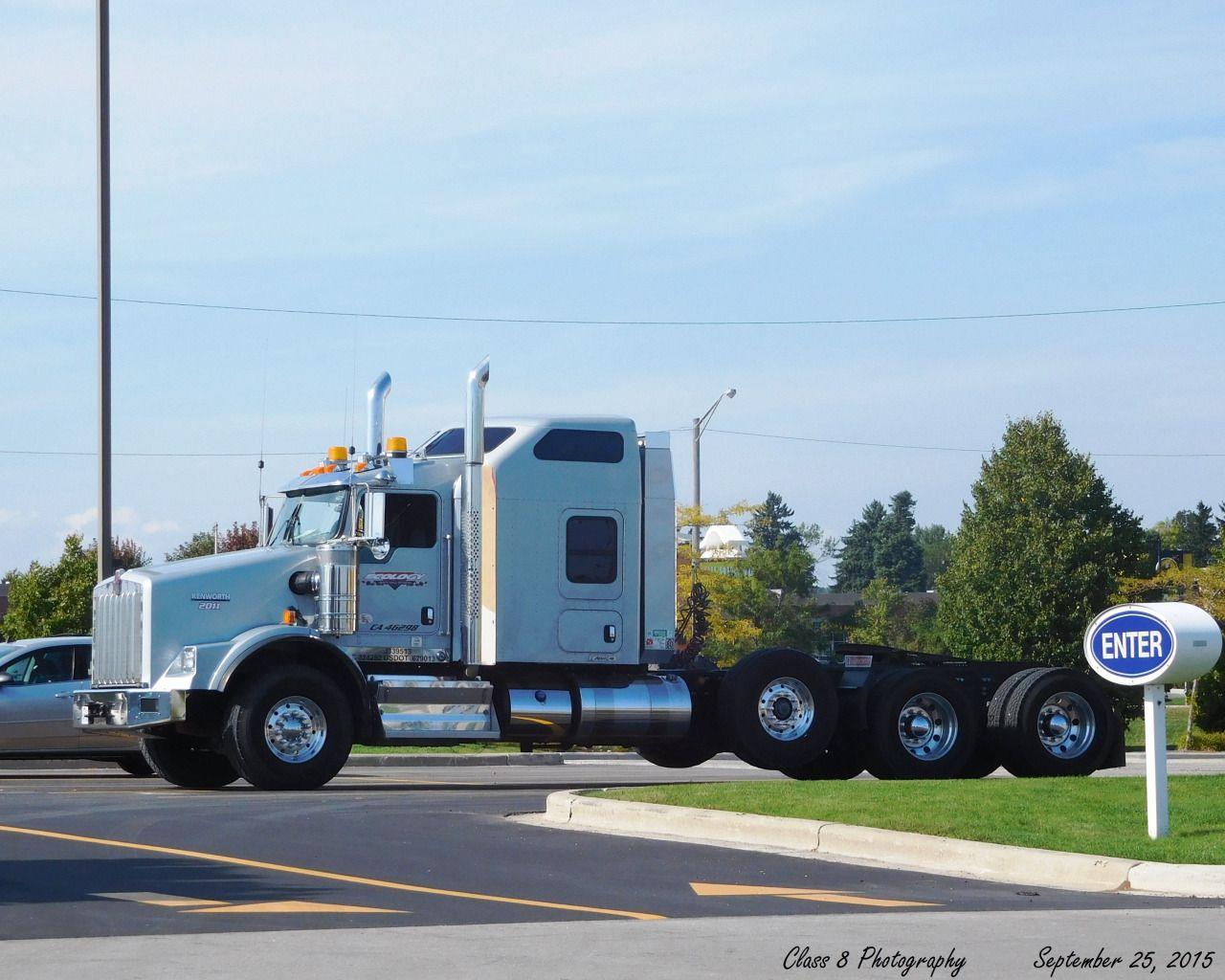 Kenworth T800 Personalizado Heavy Haul With Images Trucks Big