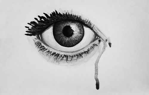 cry, drawing, eyes, great