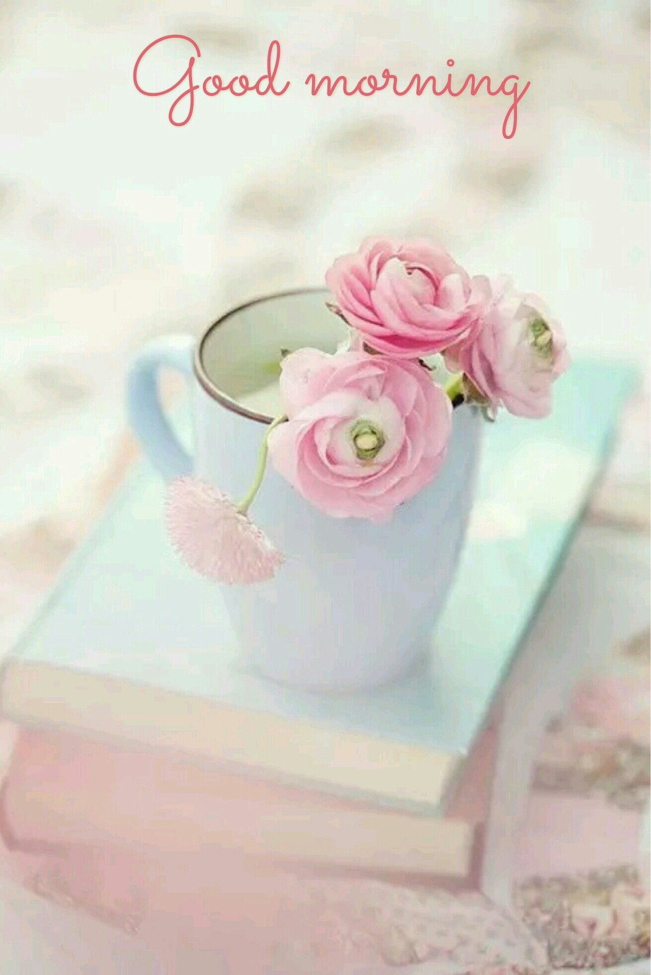 Good morning | Pastel colors, Pretty pastel, Pink