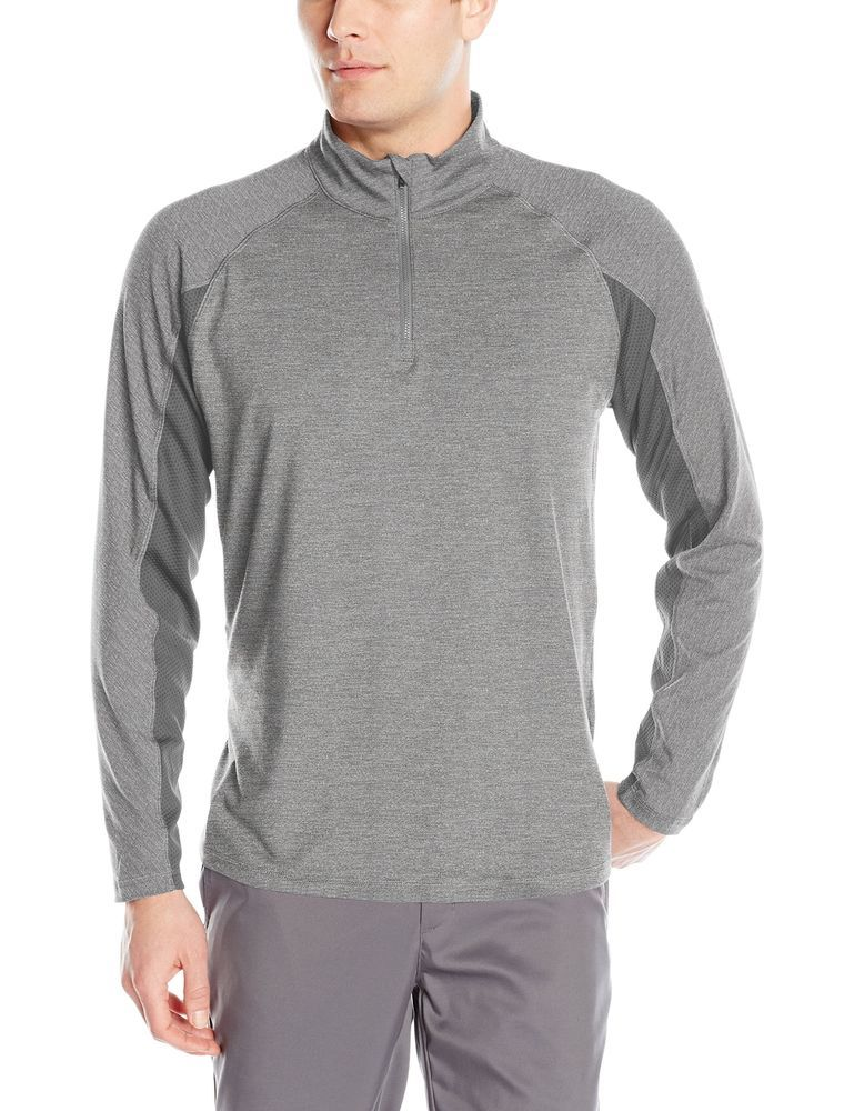 73375f9f Nike Tech Sphere Knit Crew Men's Golf Cover-up Sweater Carbon Heather/Volt  Size Medium | Sweaters | Nike golf men, Mens golf outfit, Nike golf