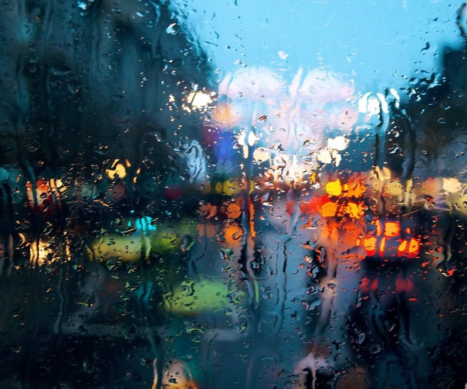 Rain Changes The Average Into Something New Greener Grass Darker Pavement Brighter Lights True Watercolor Rainy Wallpaper Weather Wallpaper Fall Wallpaper