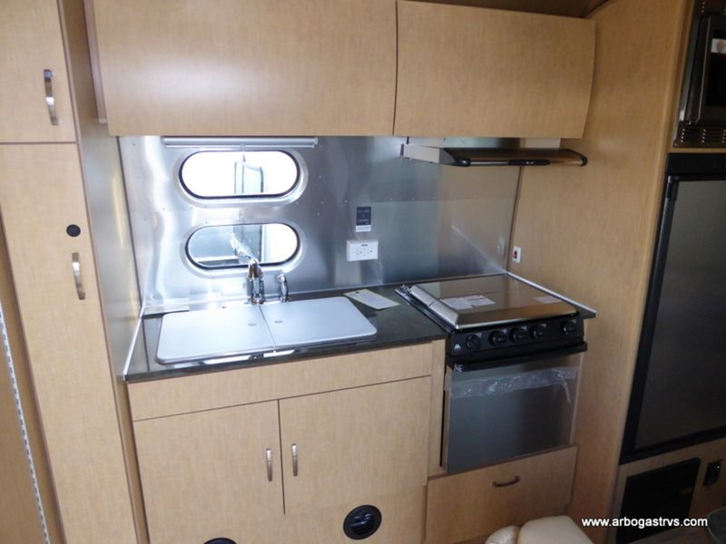 2017 Airstream Flying Cloud 23FB inside view of the iconic