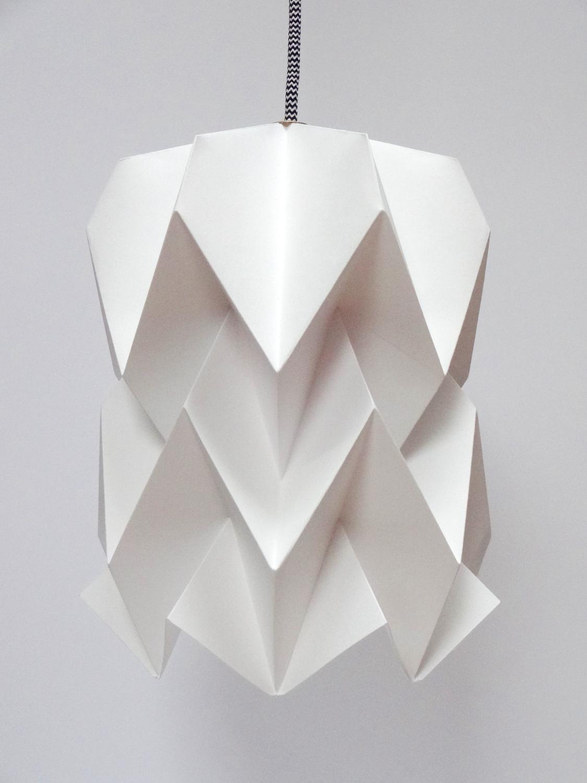 abat jour origami ghost crafts pinterest origami. Black Bedroom Furniture Sets. Home Design Ideas