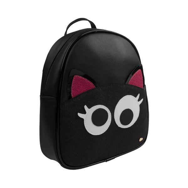 d4aac35f9 Mochila-Pampili-Dot-s-Infantil-Preta | Mini mochilas | Backpacks ...