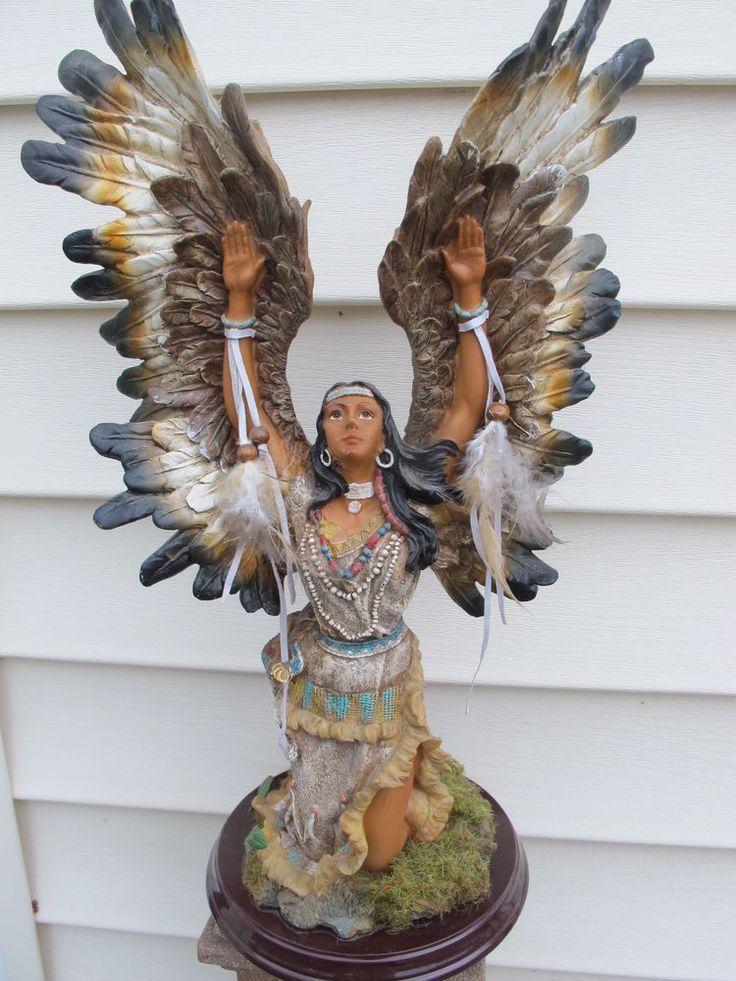 cd421eeeaf1c native american porcelain figurines