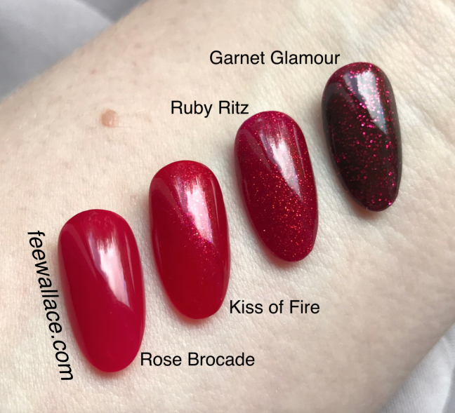 Kiss Of Fire Nail Color Cnd Shellac And Vinylux From Night Moves Collection Swatch By Fee