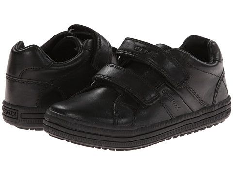 cien tocino dedo índice  Geox Kids Jr Elvis Uniform (Little Kid) Black | Boys shoes black, Girls  shoes kids, Boys school shoes
