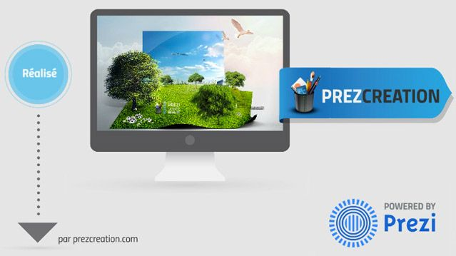 production du prezi de prezcreation modele prizee pinterest