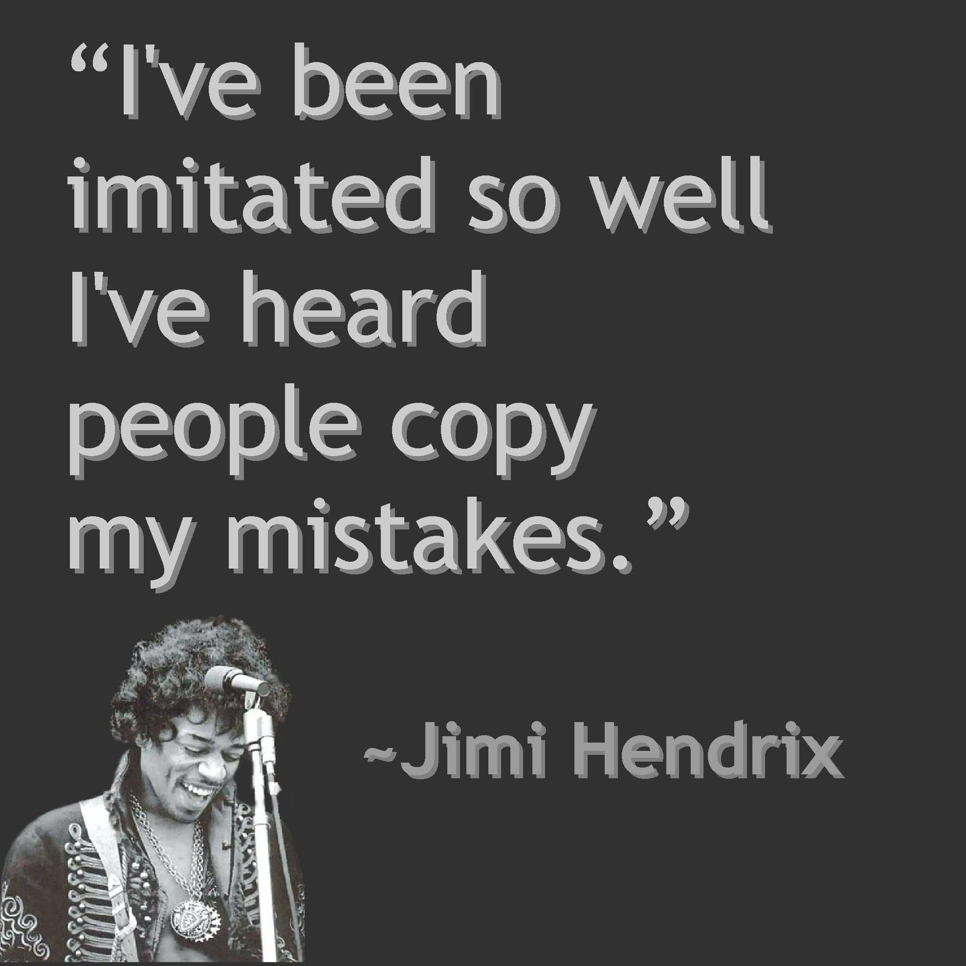 Quotes About People Who Notice: Jimi Hendrix Quote