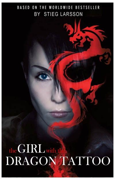 A Great Poster For The 2009 Swedish Film The Girl With The Dragon
