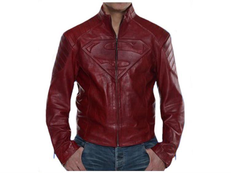 Superman Leather Street Jacket - Medium - Smallville Prop ...
