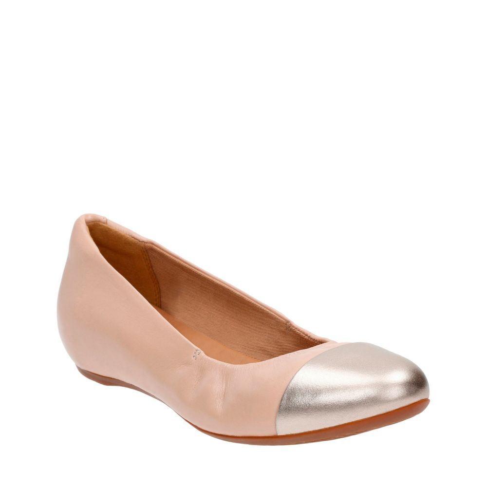 d5691fa794654 Alitay Susan Nude Leather womens-wide-fit-flats | Shoes | Shoes ...