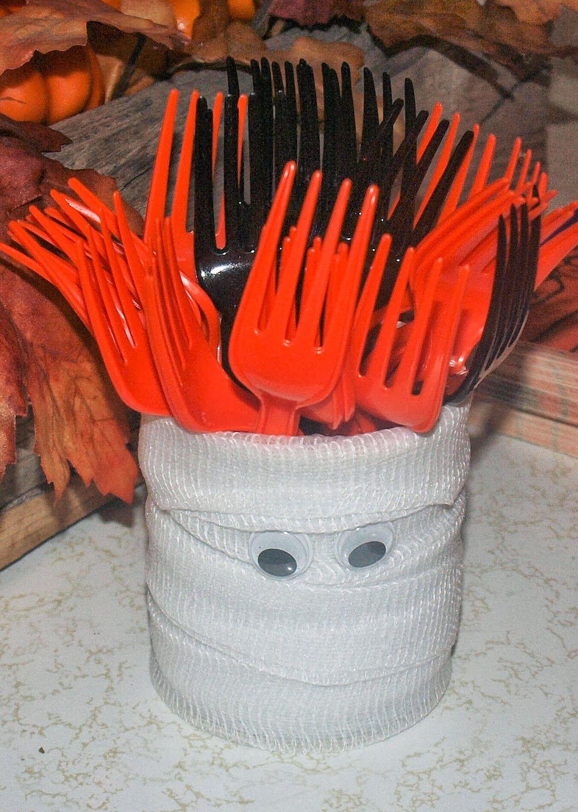 Cute, easy, and cheap Halloween decor | Crafty! | Pinterest ...