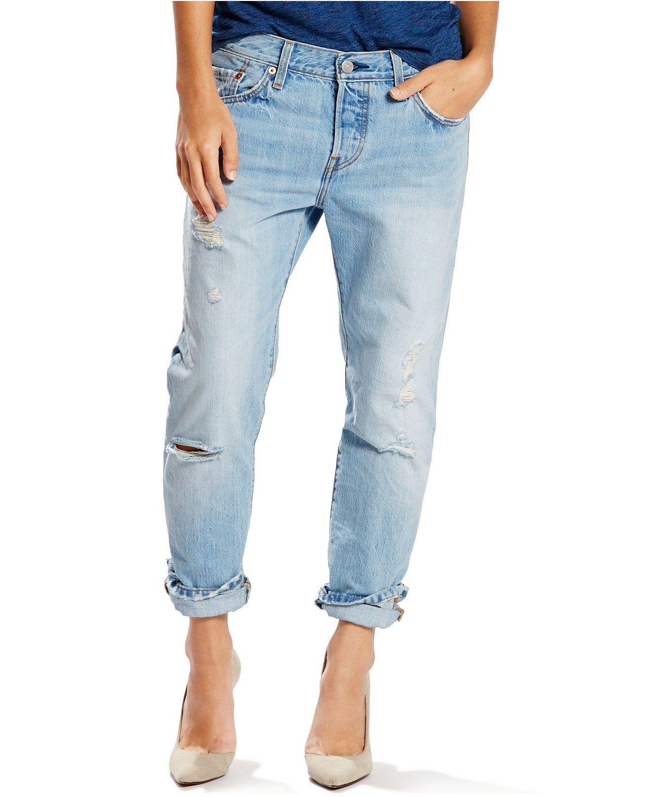 fd73cbbb Levi's® 501® CT Boyfriend Jeans in Turbulent Indigo | da closet of ...