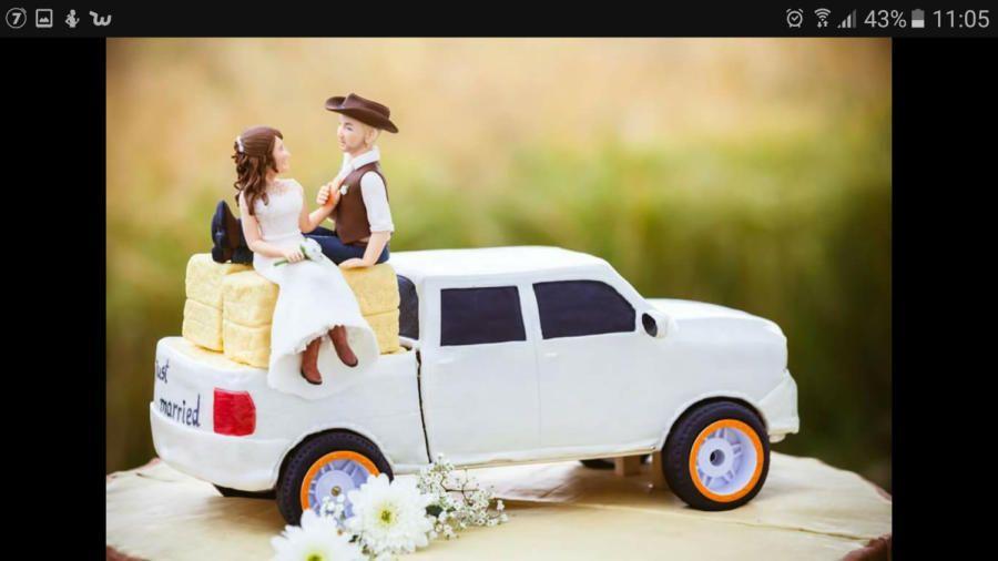 wedding cake - cake by Maryssweets | Commuting Cakes | Pinterest ...