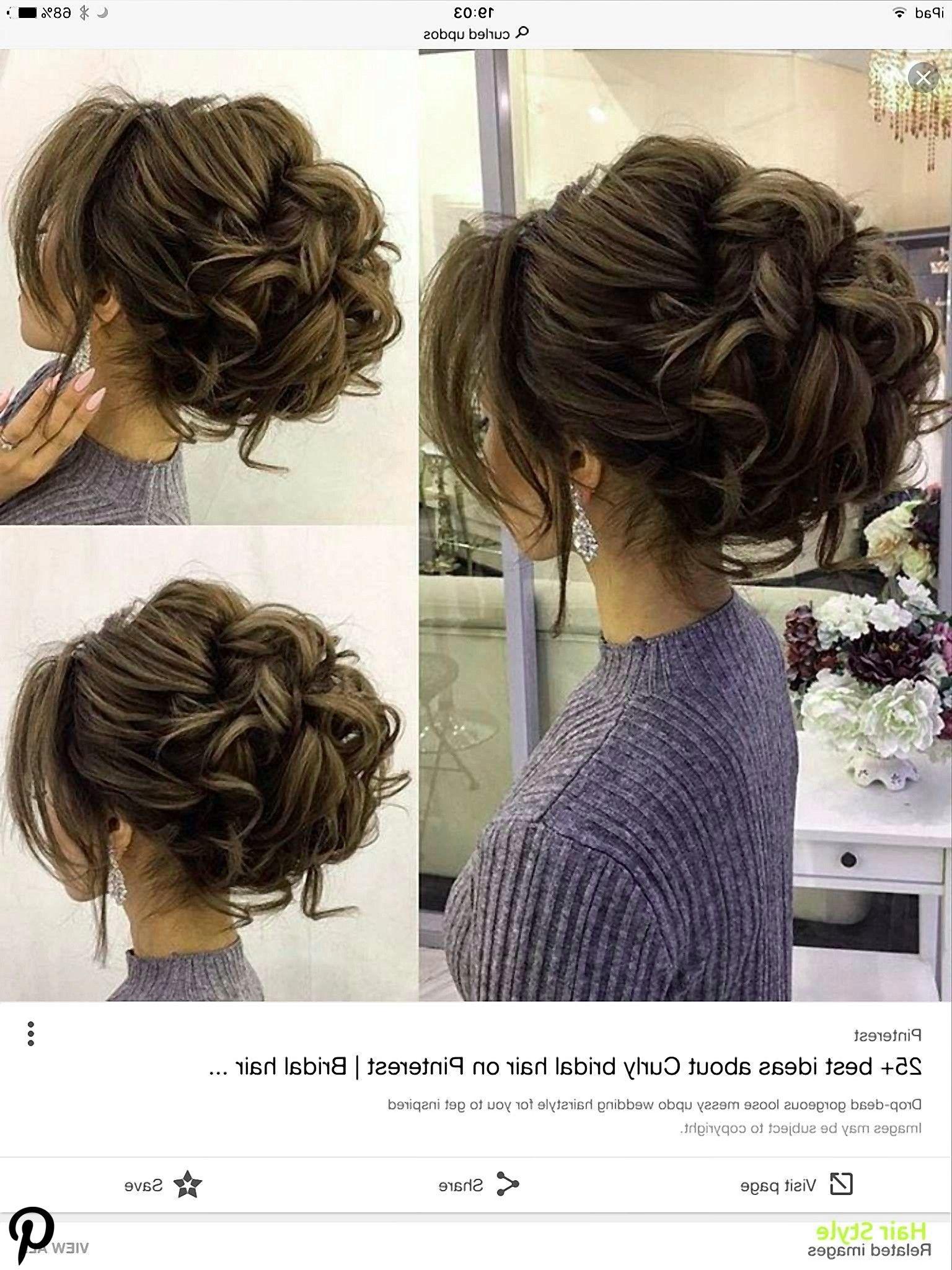 Elegantes Haar zur Seite Hochzeit Frisuren  Haare zur seite
