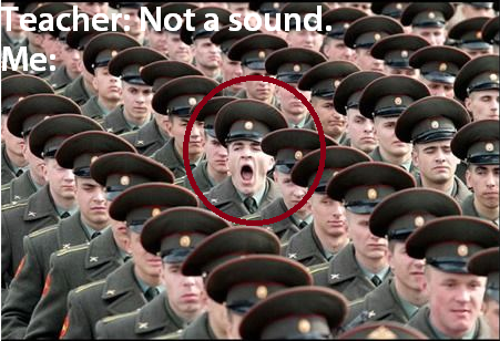 Not a sound...