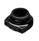 Throttle Housings Black Ano by Performance Machine