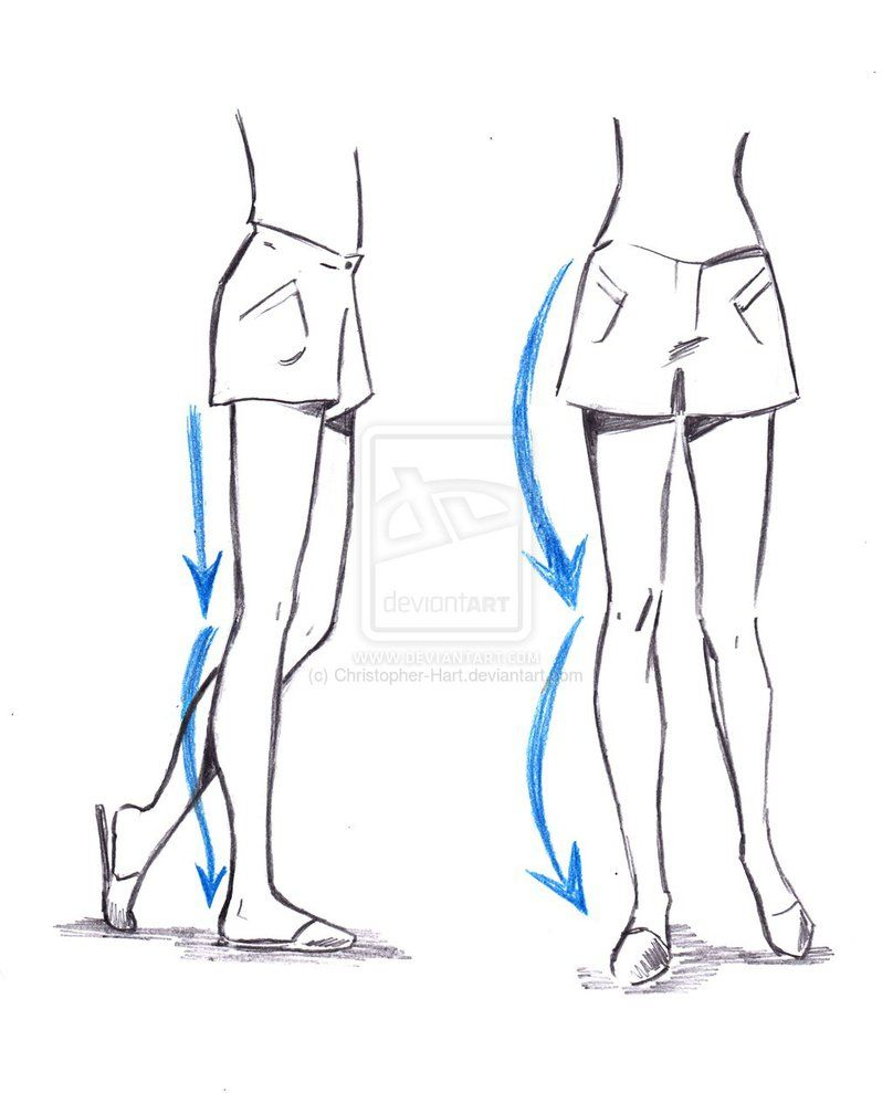 TUTORIAL ON DRAWING THE LEGS by Christopher-Hart on deviantART ...