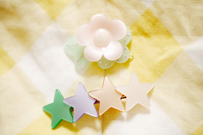 Topshop hair clips  http://www.thecherryblossomgirl.com