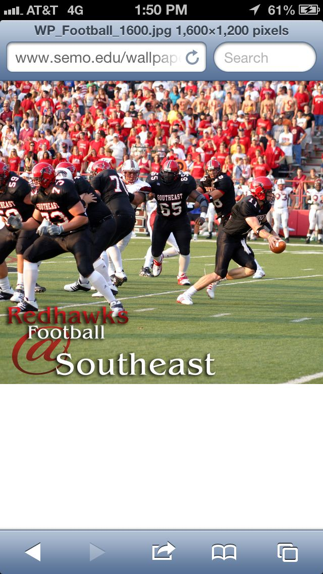 SEMO Football! (With images) College football, Soccer