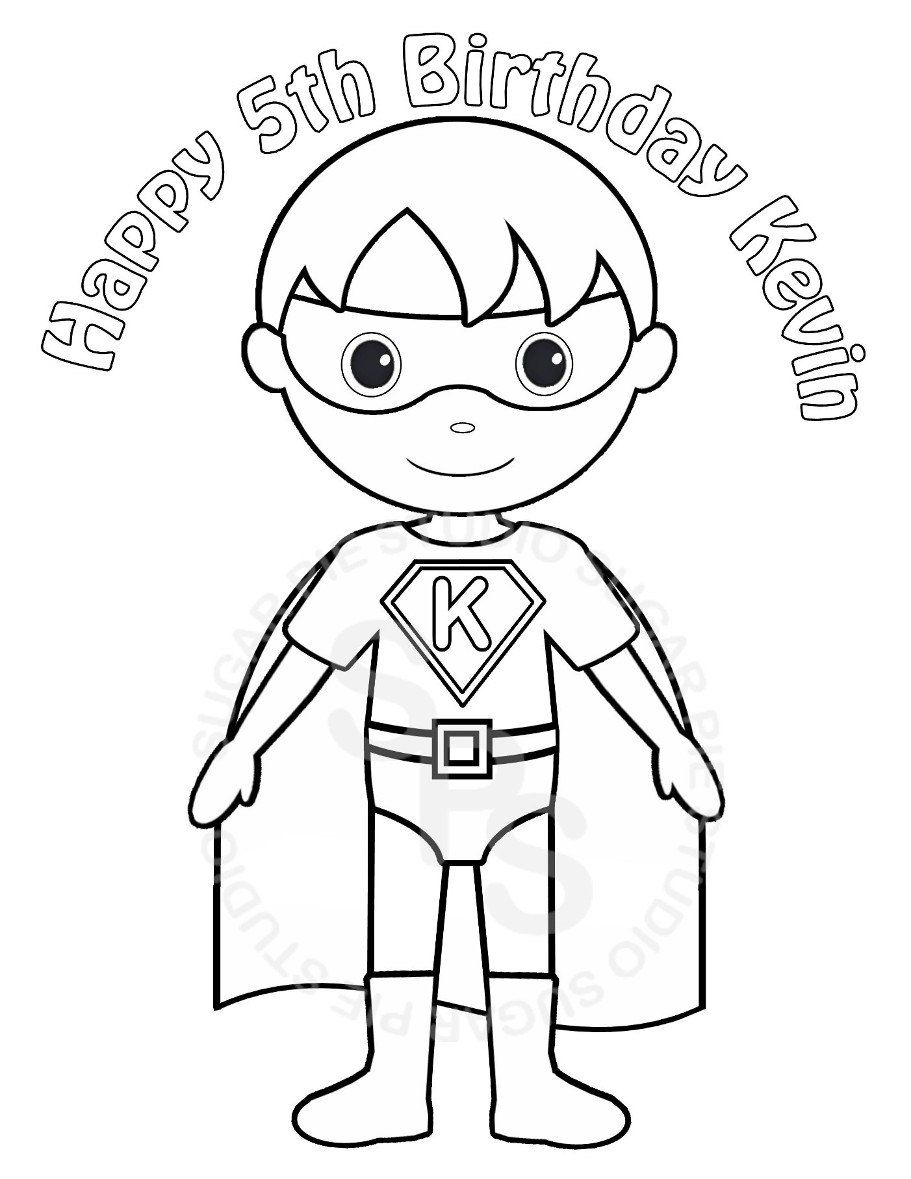 superheroes children coloring pages - Google zoeken | superhelden ...
