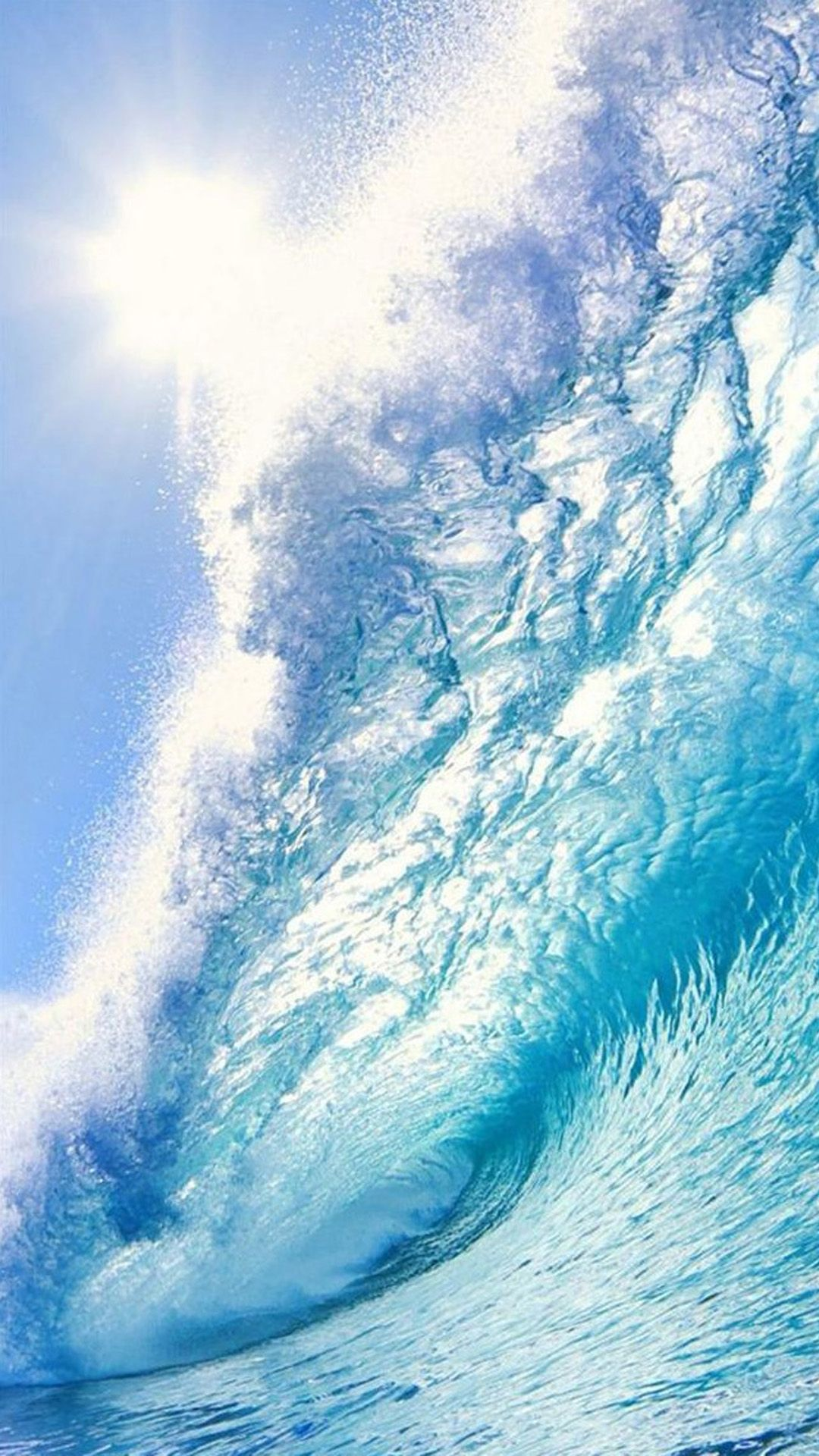 beach surf wave sea android wallpaper hd a· wallpaper appocean