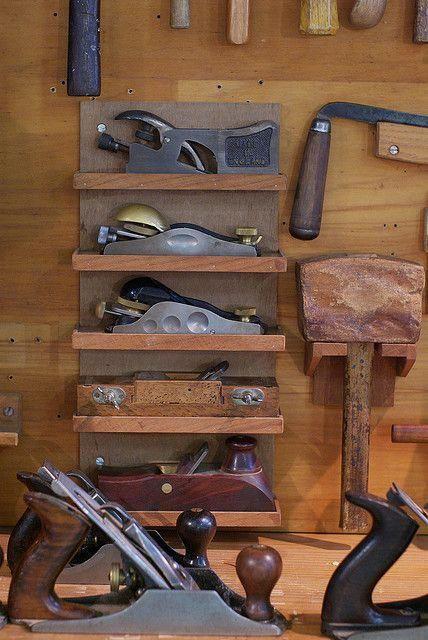 Ww138 Tool Locker Of A Carpenter By Craig Jewell