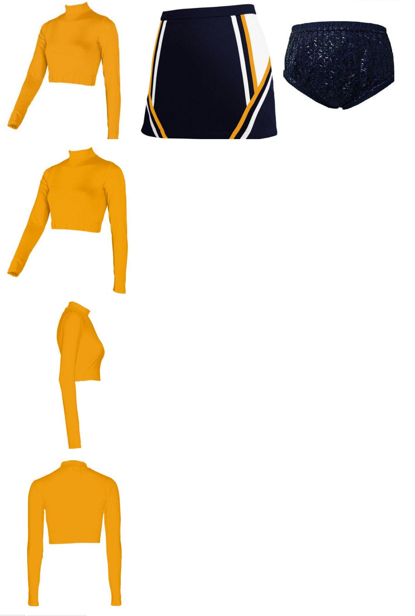 af36cc24d83 Cheerleading 66832  Adult Xl 14 16 Real Cheerleader Uniform Top Skirt  Sequin Briefs 41-43 33-35 New -  BUY IT NOW ONLY   44.99 on  eBay    cheerleading ...