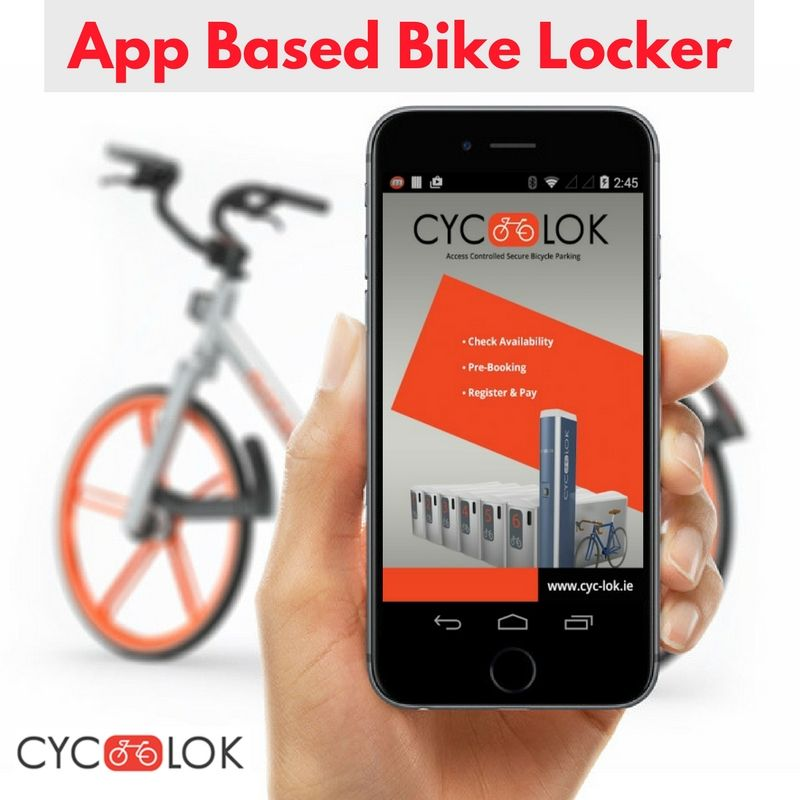 Book Your Bike Locker Via Our Online Booking Form Or Android And
