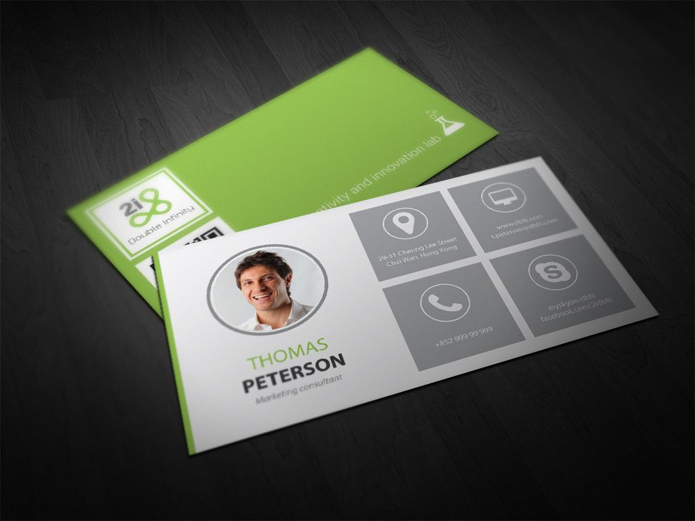 Premium Business Card Design Service by YorgosF - 35861 | mycard ...