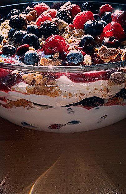 Quarkcreme mit Beeren und Cantuccini von JoMaLuCh   Chefkoch