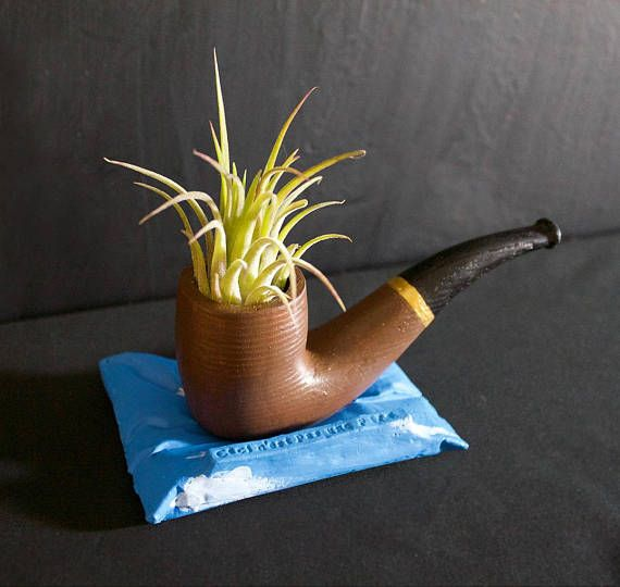 concrete planter Unique shape housewarming gift Christmas