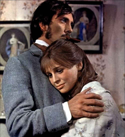 Terence Stamp and Julie Christie in Far From the Madding Crowd