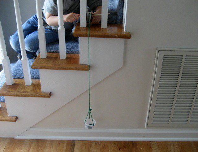 how to make pulley for school project