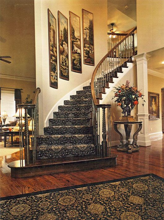 Interior Designer Moorpark Westlake Thousand Oaks Ca Decorating Stairway Walls Staircase Wall Decor Staircase Decor