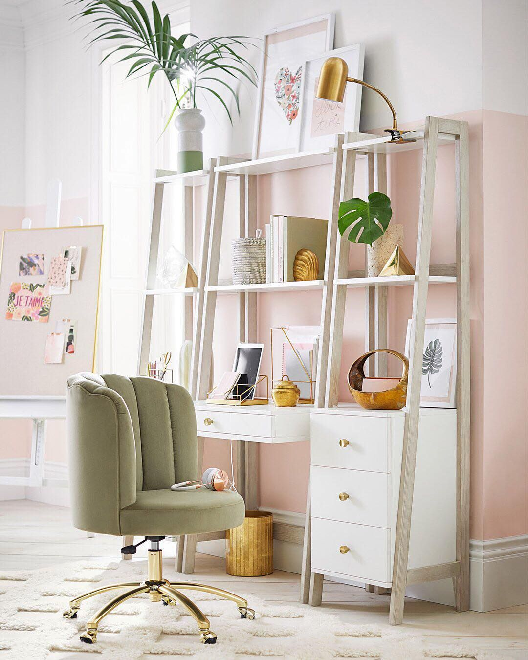 Smart And Chic—this Home Office Is A Dream Come True