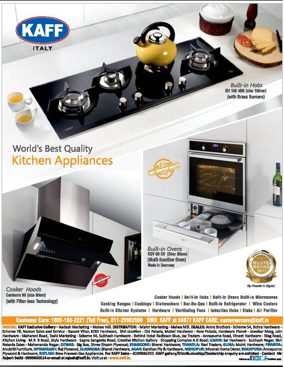 KAFF - World's Best Quality Kitchen Appliances Built-in Hobs (With ...