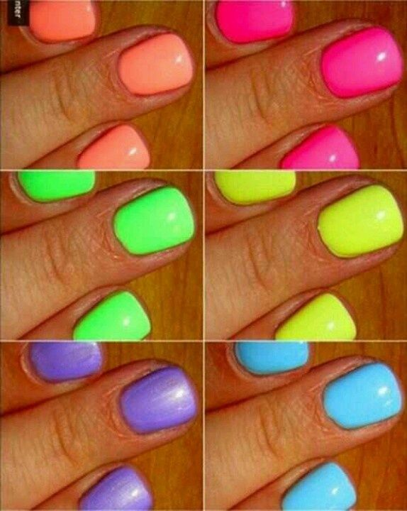 10 Best Neon Nail Polishes And Reviews 2019 Update Neon Nail Polish Neon Nails Nail