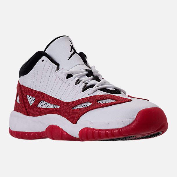6ea83ac4a5e229 Nike Boys  Grade School Air Jordan Retro 11 Low IE Basketball Shoes ...