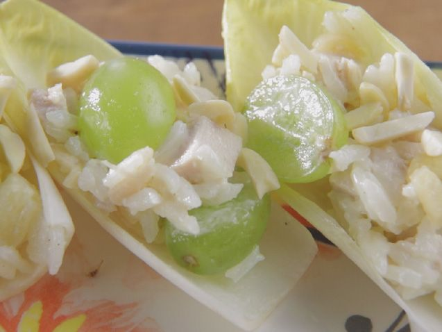 Chicken salad in endive cups recipe trisha yearwood salad and cups forumfinder Choice Image