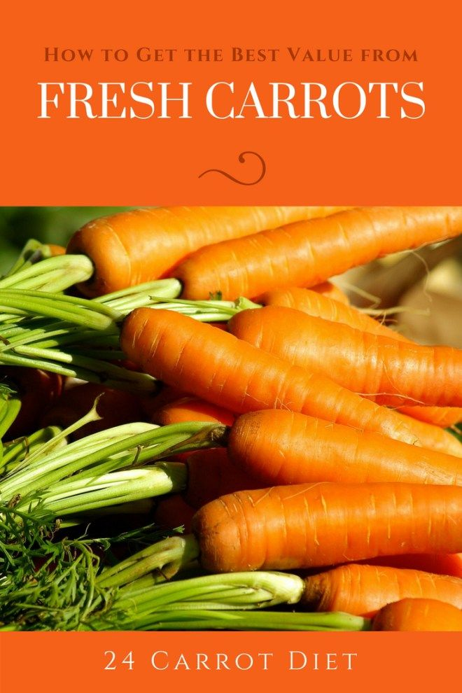 Carrots are an inexpensive vegetable. But you can learn to get even more value out of them!