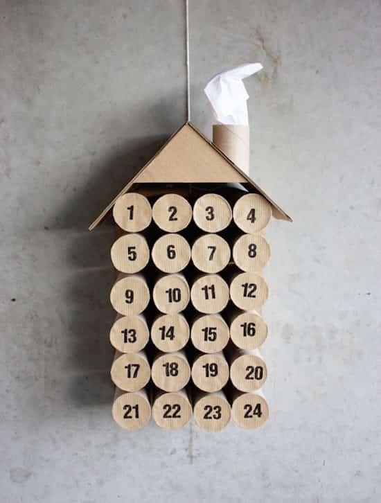 25 Choses Étonnantes Que Vous Pouvez Faire Avec des Rouleaux de Papier Toilette. #calendrierdelaventfaitmaison