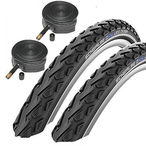Schwalbe Land Cruiser 26 X 1 75 Mountain Bike Tyres With Https Www Amazon Co Uk Dp B01b7wwar0 Ref Cm Bike Tire Hybrid Bike Mountain Bike Tires