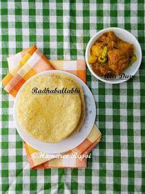 Hamaree rasoi: Radhaballabhi With Alu Dom / Dal Poori (Lentil Stuffed Flat bread) | Bengali Style