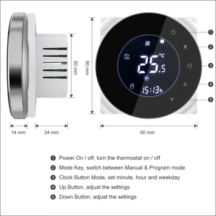 Digital Wifi Smart Thermostat Smart thermostats